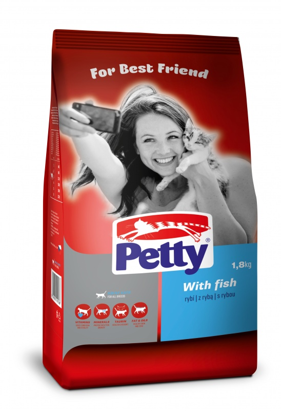 PETTY Fish 1,8kg