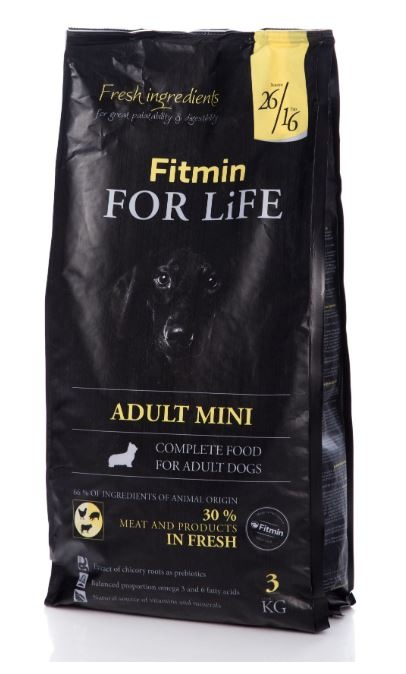 Fitmin dog adult mini 15kg