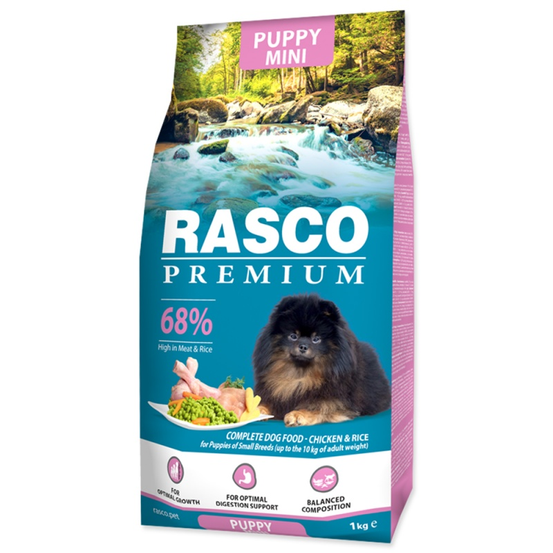 RASCO Premium Puppy/Junior Small 1kg