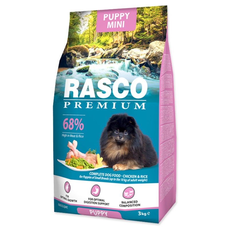 RASCO Premium Puppy/Junior Small 3kg