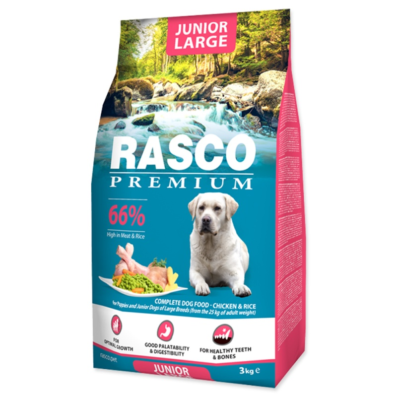 RASCO Premium Puppy/Junior Large 3kg