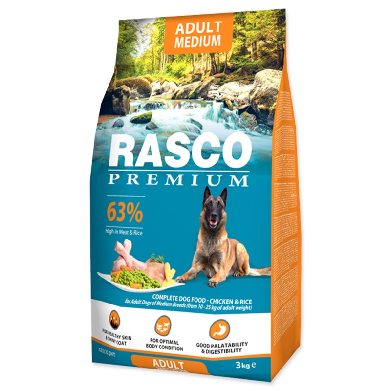 RASCO Premium Adult Medium 3kg