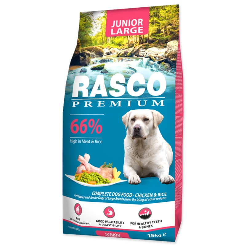 RASCO Premium Puppy/Junior Large 15kg