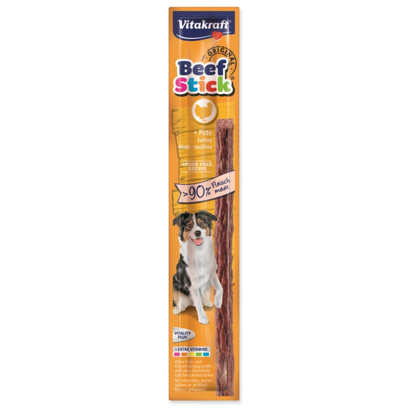 VITAKRAFT Beef Stick Krůta 1ks