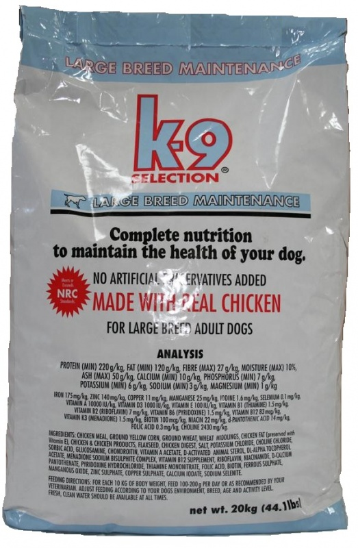 K-9 Maintenance Large 20kg