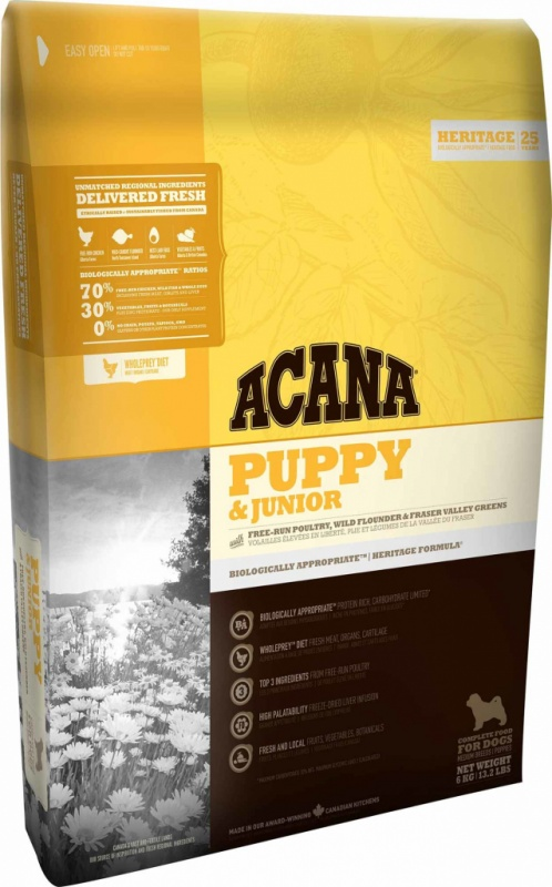 ACANA Dog Puppy Junior 17kg Heritage
