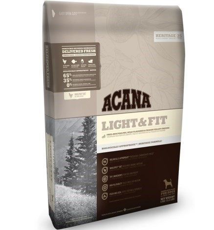 ACANA Dog Light & Fit 11,4kg Heritage