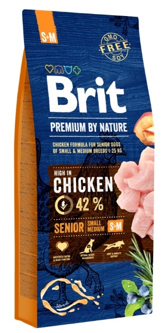 BRIT Premium by Nature Senior 15kg