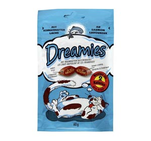 DREAMIES  60g s lososem