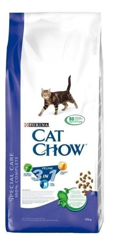 Purina Cat Chow 15kg 3in1 + batoh