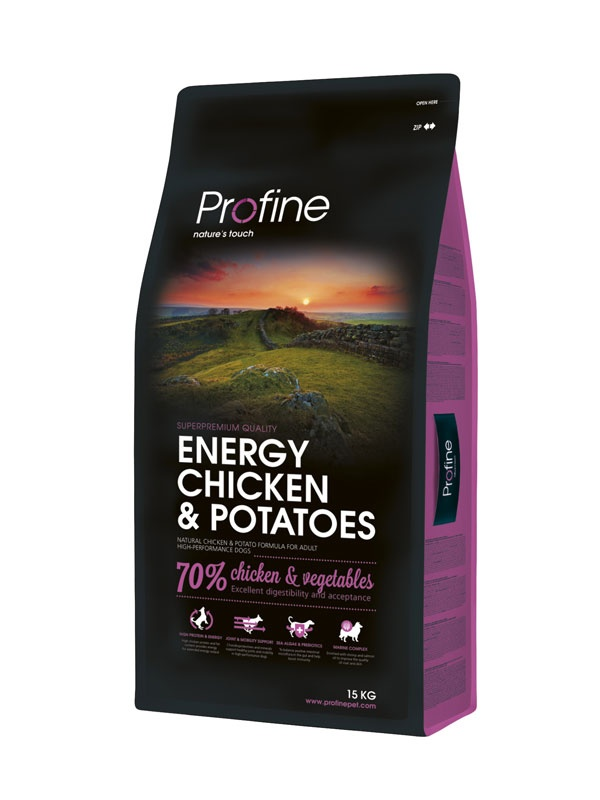 PROFINE Energy Chicken & Potatoes 15kg