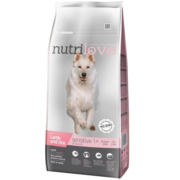 NUTRILOVE Dog Sensitive 12kg