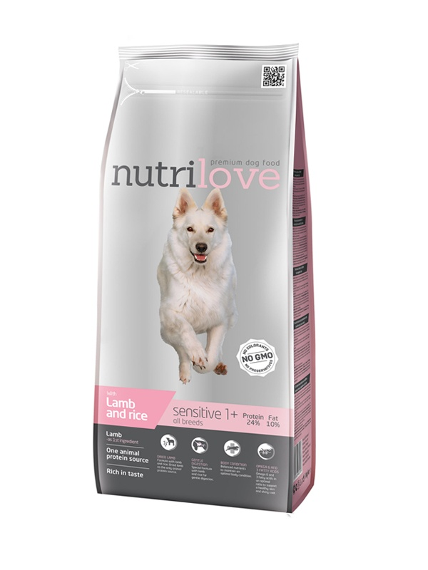 NUTRILOVE Dog Sensitive 3kg