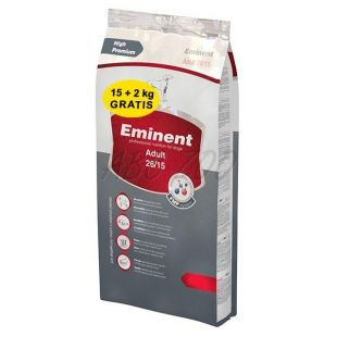 Eminent Dog Adult 15Kg + 2kg EMINENT Gold