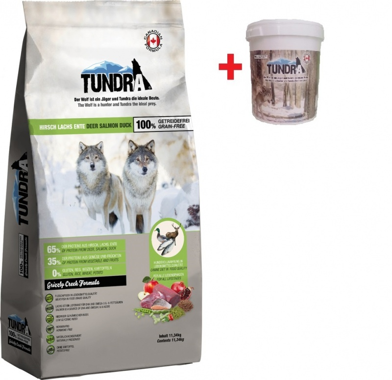 Tundra Dog Deer,Duck,Sal,Grizzly 11,34 Kg + BAREL