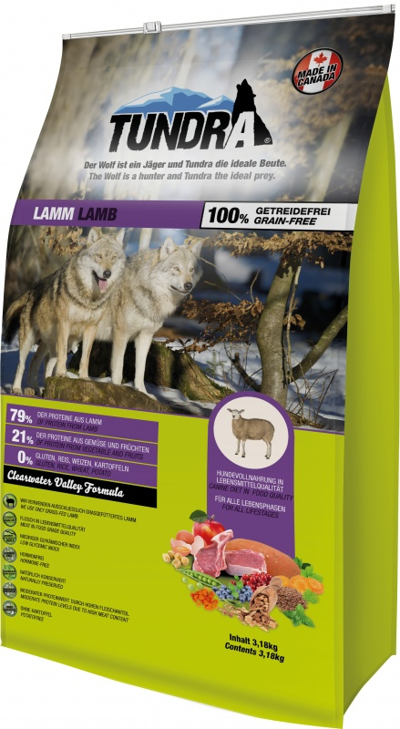 Tundra Dog Lamb Valley Formula 3,18 Kg