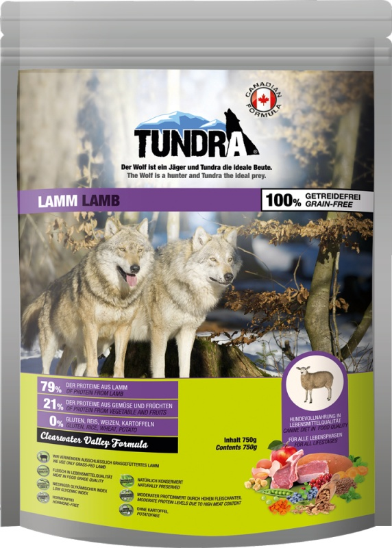 Tundra Dog Lamb Valley Formula 750g