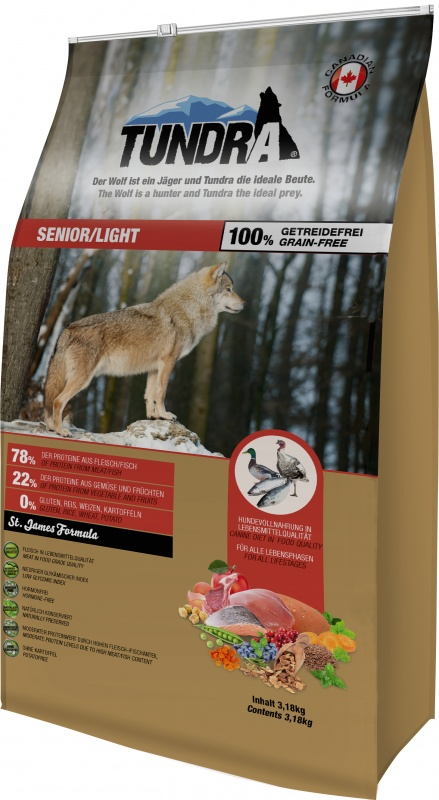 Tundra Dog Senior/Light St. James Formula 3,18 kg