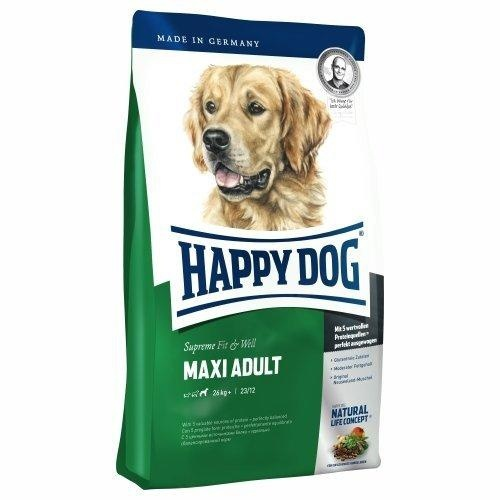 HAPPY DOG SUPREME MAXI ADULT 15kg +5x PEDIGREE DENTA TwiceWeekly