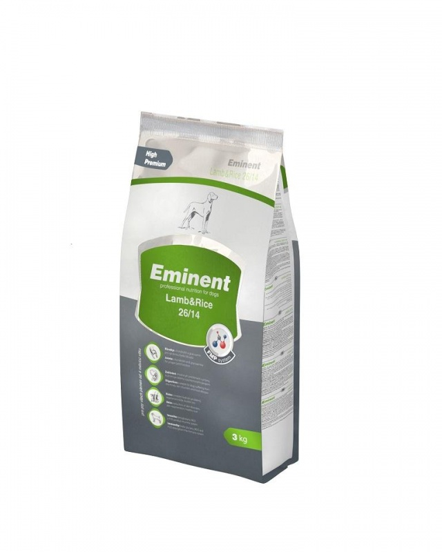 EMINENT DOG Lamb/Rice 3kg