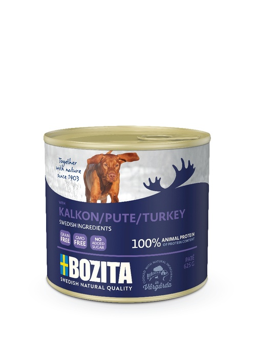 BOZITA DOG Paté Turkey/Krůta maso 625g