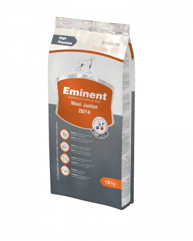 Eminent Dog Junior Maxi 15kg + 3kg