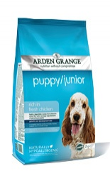 ARDEN GRANGE Puppy/Junior Chicken 12kg