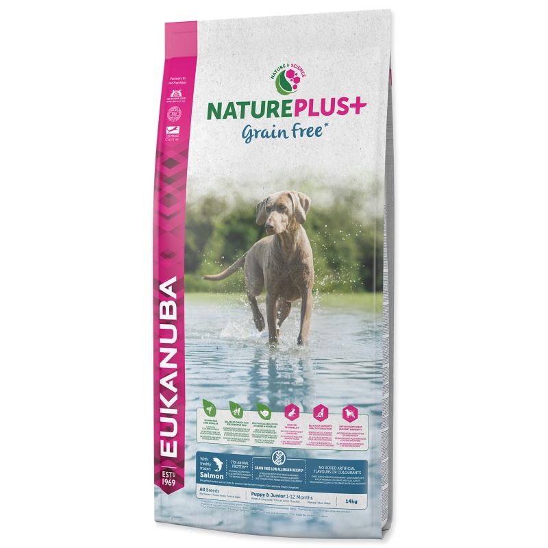 EUKANUBA Nature Plus Puppy Salmon 14kg